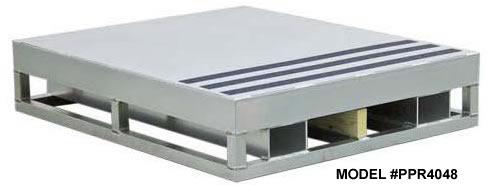 Aluminum pallets aluminum pallet for Barometric pressure fishing cheat sheet