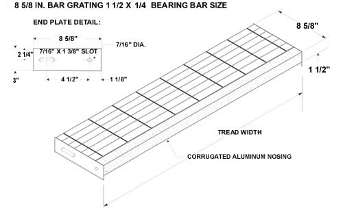 Stair Tread Grating Weight - Photos Freezer and Stair