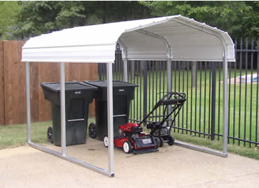 Steel Storage Shelter, Boat Storage