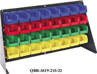 bench racks & louvered panel