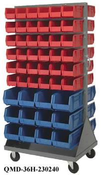 louvered rack unit