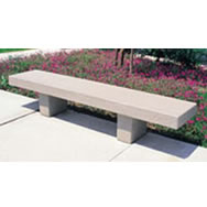 University Concrete Benches