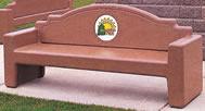Westlake Concrete Bench