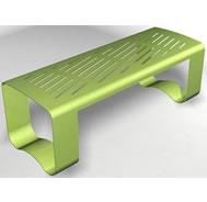 steel bench