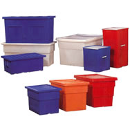 Smooth Wall Shipping Storage Containers