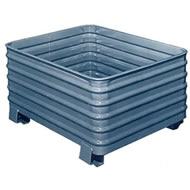 standard 4-way stacking containers