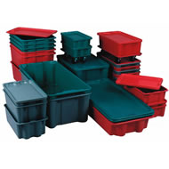780 series nest and stack containers