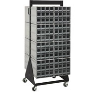 interlocking storage cabinet floor stands