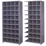 pre engineered 36 inch wide bin shelving