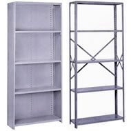 stand alone offset angle shelving