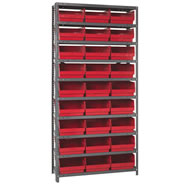 store-more shelf bin shelving systems
