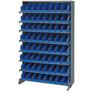 sloped shelving system
