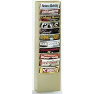 vertical con-tur literature racks