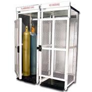 high pressure cylinder storage cabinets