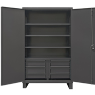 hd welded cabinets - solid doors