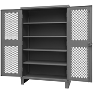 stationary mesh security cabinets