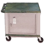 nickel series tuffy utility and audio visual carts