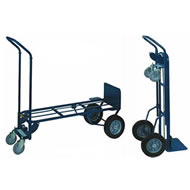 two-in-one industrial steel hand trucks