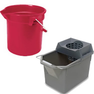 rubbermaid pail and mop strainer combination