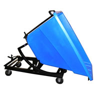 polyethylene self dumping hoppers