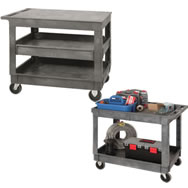 mobile carts and tool caddy