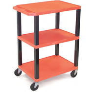 color industrial carts