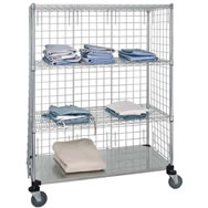 linen & bin transport carts