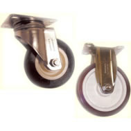 Stainless Medium ST050 / ST051 Casters