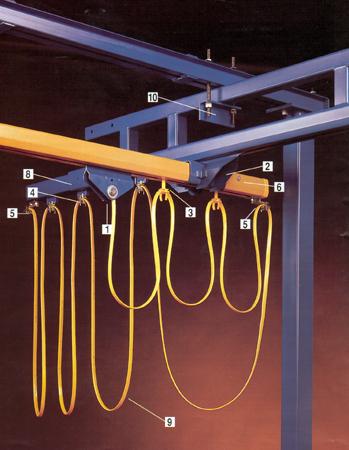 anatomy of a work station crane