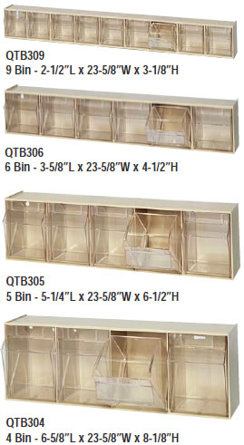 Clear Tip Out Bin Systems Clear Tip Out Bin Storage Units