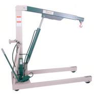 model b-2000 hydraulic floor crane