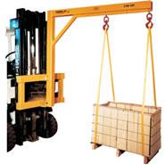 model fcj fork lift booms carriage jib