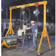 a series fixed height steel gantry cranes