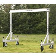 portable aluminum gantry cranes