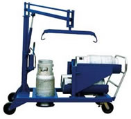 lp tank truck and welding cylinder torch cart