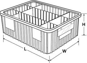 dividable grid containers