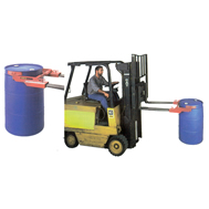 drum grab & dispenser for trucks