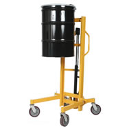 high lift hydraulic drum truck