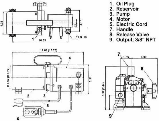 3 position hydraulic valves diagram