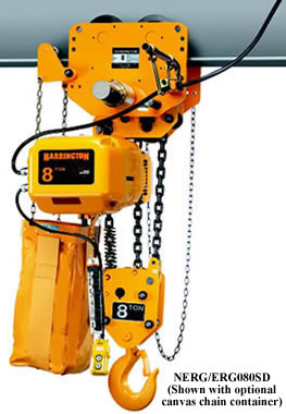 Erp And Erg Large Capacity Electric Chain Hoists