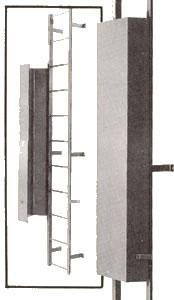 Fixed Steel Ladders Vertical Climbing Access