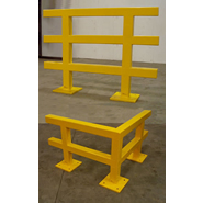 grid rail protective guards