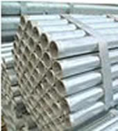galvanized and aluminum schedule 40 pipe