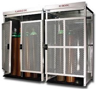High Pressure Cylinder Storage Cabinets ...