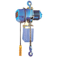 chain hoist with hook mount