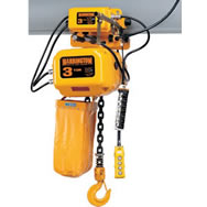 nerm series electric chain hoist with motor driven trolley