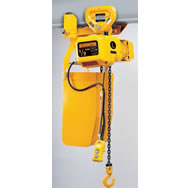 nerp series electric chain hoist with push trolley