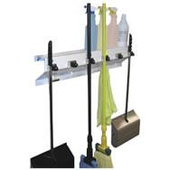 mop and broom storage