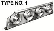 type 1 conveyor rail wheels