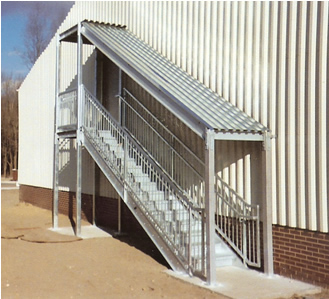 Galvanized Ibc Stairs ...